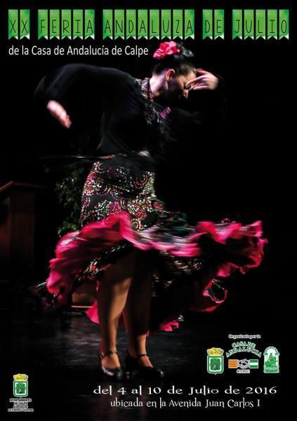 XX Feria Andaluza de Julio Casa de Andalucia Calpe 2016