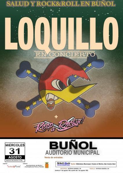 """CONCIERTO DE """"LOQUILLO"""" Buñol"""