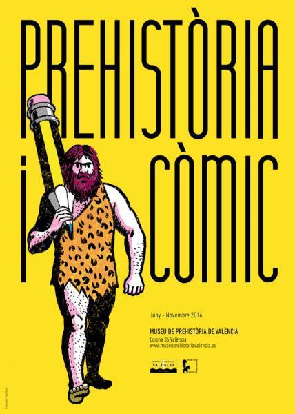 Exposición Prehistoria y cómic - Museo de Prehistoria