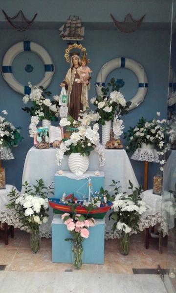 Fiestas en honor a la Virgen del Carmen