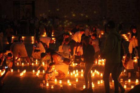 Titaguas a la luz de las velas