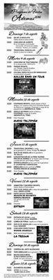 Programa de fiestas de Ademuz 2016