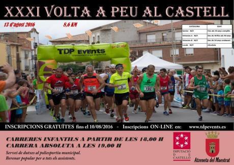 """""""Volta a peu al Castell"""" de Atzeneta"""