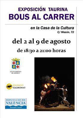 Exposición taurina BOUS AL CARRER