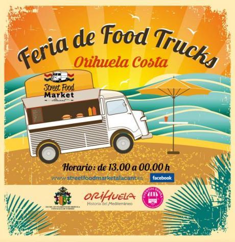 FERIA DE FOOD TRUCKS EN ORIHUELA COSTA