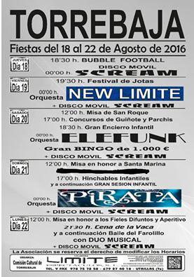 Fiestas de Torrebaja 2016