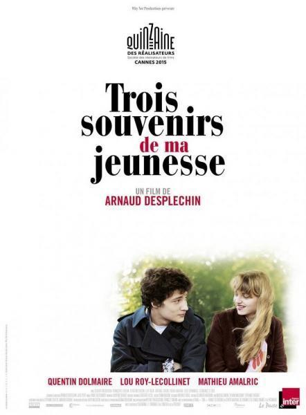 Cine: Trois souvenirs de ma jeunesse (Tres recuerdos de mi juventud)