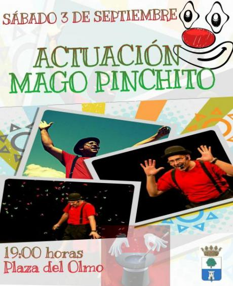 Actuación Mago Pinchito