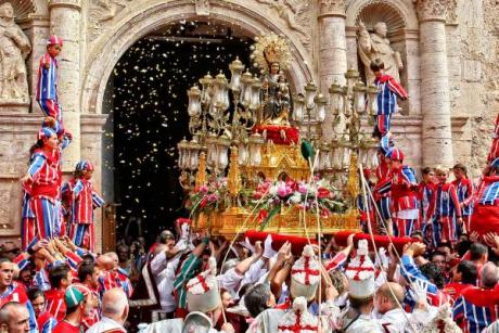 Algemesí vibre avec la Muixeranga lors de la Fête de la Mare de Déu de la Salut