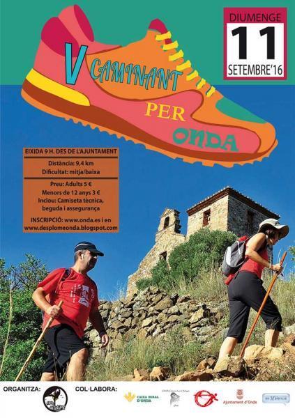 """V Marcha """"Caminant per Onda"""""""