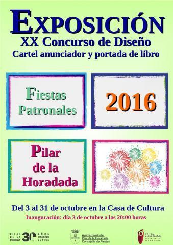 Exposición XX Concurso de Diseño en Pilar de la Horadada 2016