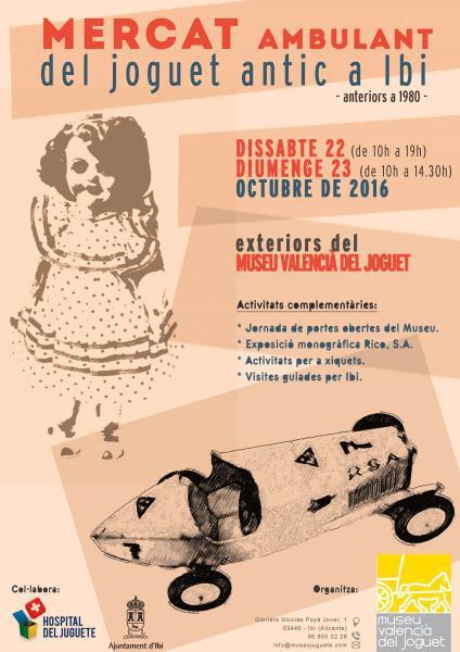 El Museo del Juguete de Ibi organiza un Mercado del Juguete Antiguo