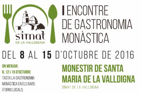 I Encuentro de Gastronomía Monástica. Simat de le Valldigna