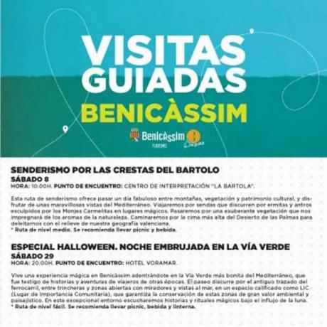Programa oficial de visitas guiadas Octubre 2016