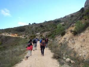 Ruta de Carlet a Matamón