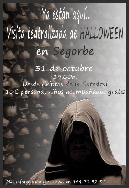 Visita teatralizada de Halloween en Segorbe