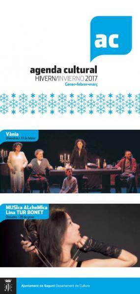 Agenda Cultural Invierno. Sagunto 2017