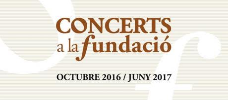Conciertos en la Fundación Bancaja