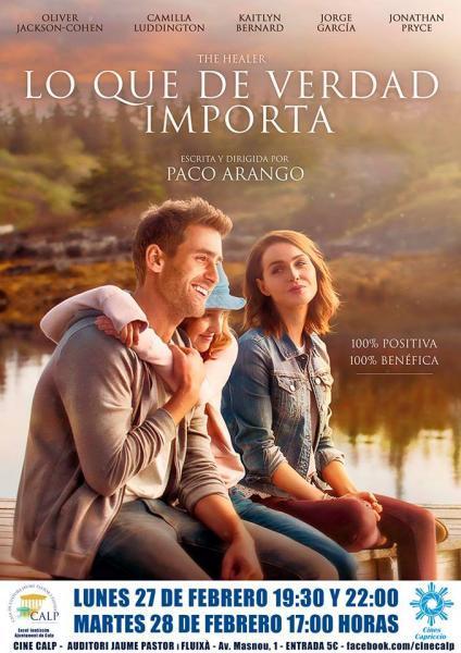 """Cine Casa Cultura """"Lo que de verdad importa"""" de Paco Arango."""
