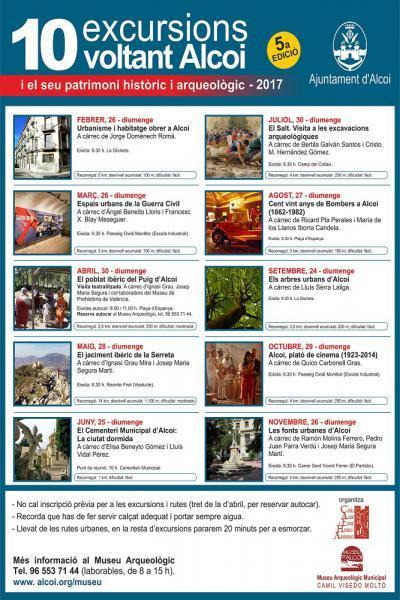 10 excursions voltant Alcoi