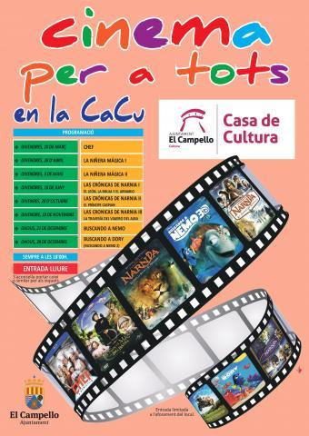 Cinema en la Cacu