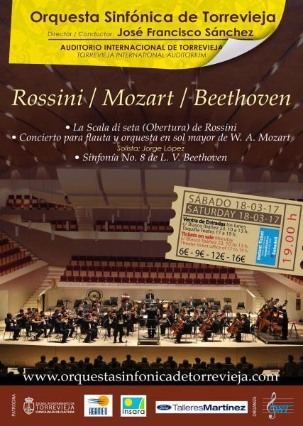 Gran Concierto de la Orquesta Sinfónica de Torrevieja.