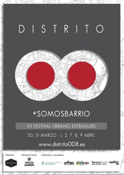 VII Festival Distrito 008 Extramurs