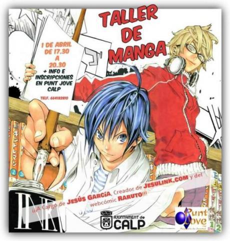 Taller de Manga en Punt Jove Calpe