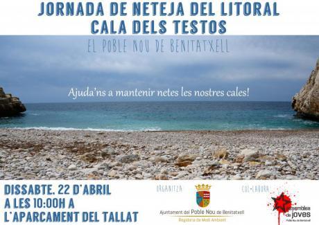Jornada de limpieza del litoral: Cala dels Testos