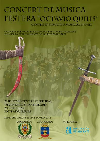 "Concert música festera ""Octavio Quilis"""