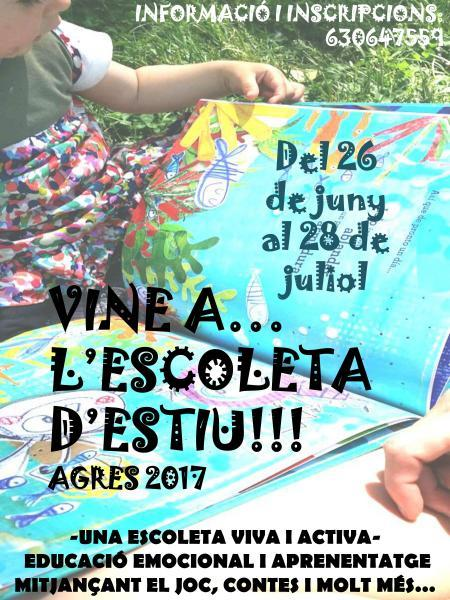 ESCOLETA D'ESTIU AGRES 2017