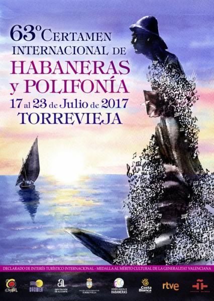 63ª Edición Certamen Internacional de Habaneras y Polifonía. Torrevieja