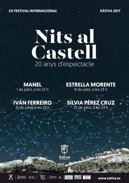 Xàtiva, Nits al Castell 2017