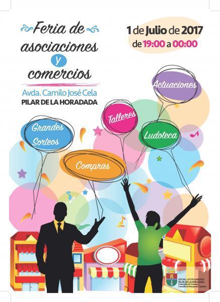 Feria de Asociaciones y Comercio en Pilar de la Horadada 2017