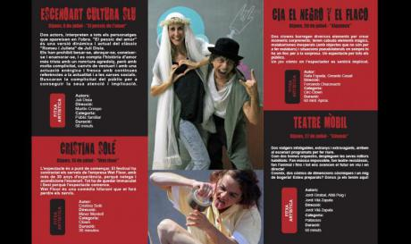 """""""Viu l'estiu"""" Festival de teatro al aire libre"""