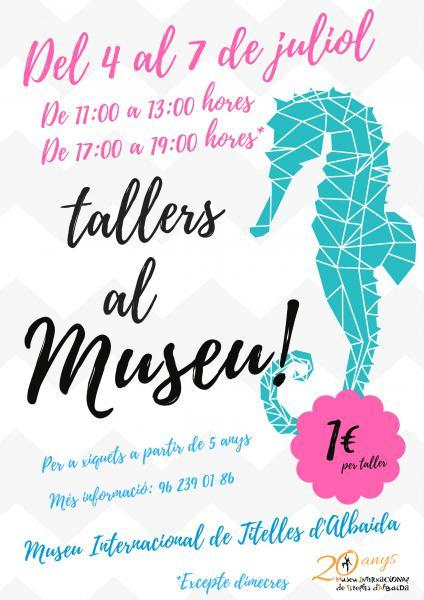 Talleres en el Museo Internacional de Títeres