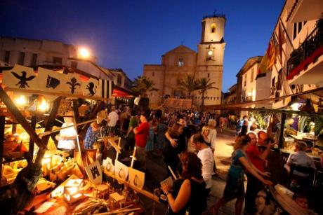 Market of the Middle Ages in The Nucía