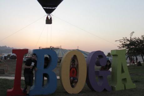 A great spectacle and a lot of joy at the Iboga Summer Festival