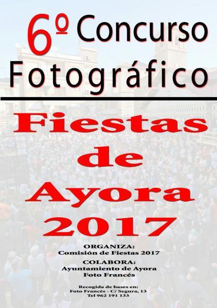VI Concurso Fotográfico Fiestas de Ayora 2017