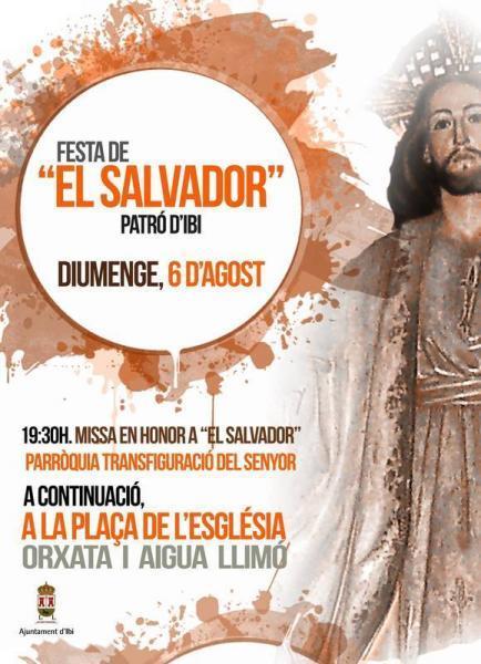 """Festa de """"El Salvador"""" Patró d'Ibi"""