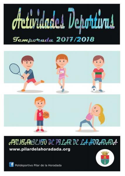 Actividades deportivas invierno 2017/2018 en Pilar de la Horadada 2017