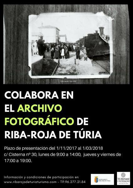 Colabora con el Archivo Fotográfico de Riba-roja de Túria