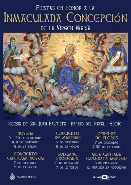 Fiestas en honor a la Inmaculada Concepción.