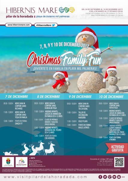 Hibernis Mare, tu playa de invierno- Christmas Family Fun en Pilar de la Horadada 2017