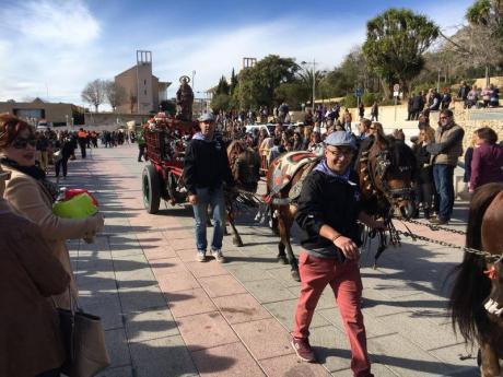 Fira i Porrat de Sant Antoni en Xàbia