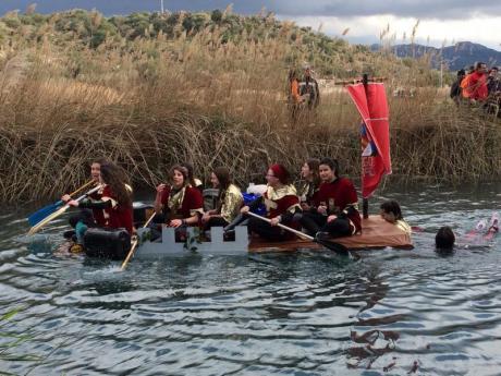 Descenso del río Bullent en Pego para iniciar Carnaval 2018