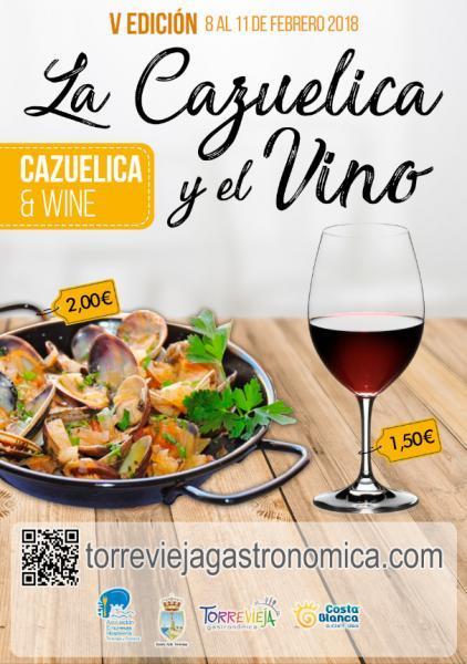 La Cazuelica y El Vino. 2018