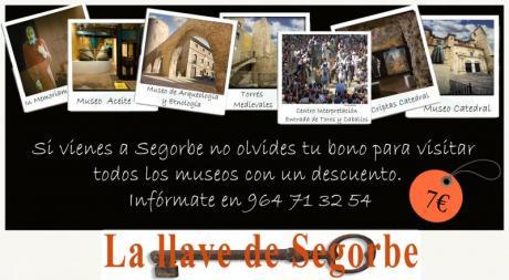 """Bono cultural """"La Llave de Segorbe"""""""