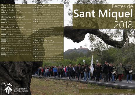 Fiestas de Sant Miquel 2018 Vilafamés