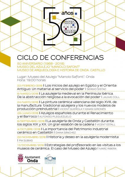 Ciclo de conferencias en Onda